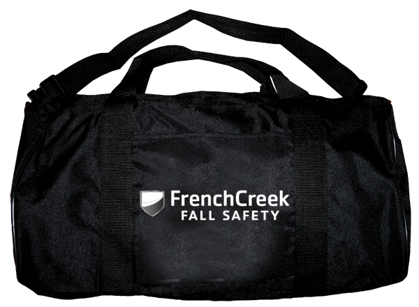 FrenchCreek carry bag with zipper closure and handles