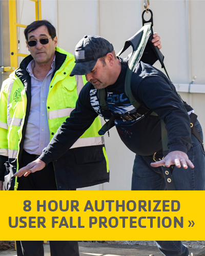 8 Hour Authorized User (Fall Protection)