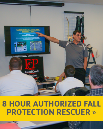 8 Hour Authorized Fall Protection Rescuer
