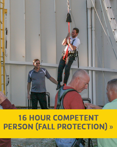 16 Hour Competent Person (Fall Protection) Training
