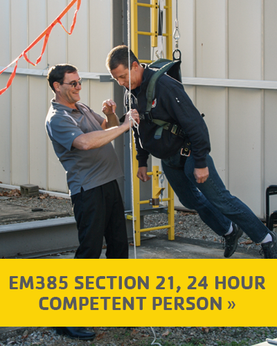 EM385 Section 21 24 Hour Competent Person